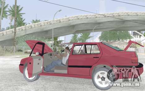 Volkswagen Vento für GTA San Andreas Unteransicht