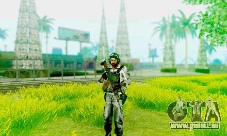 AK-12 de champ de bataille 4 pour GTA San Andreas