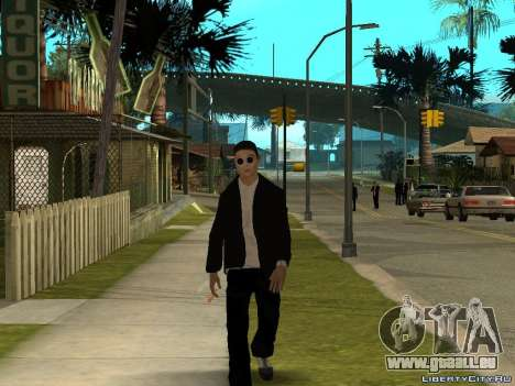 PSY pour GTA San Andreas