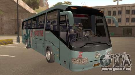 Higer KLQ6129QE - Super Fice Transport S 020 pour GTA San Andreas laissé vue