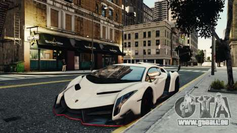 Lamborghini Veneno pour GTA 4