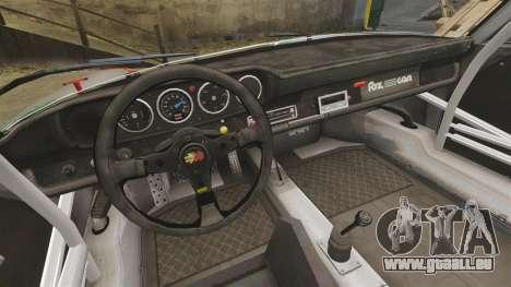 Porsche 911 RSR 3.3 für GTA 4 Innenansicht