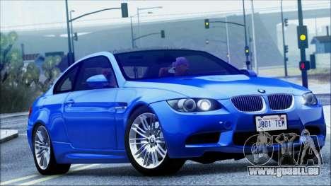 BMW M3 E92 für GTA San Andreas