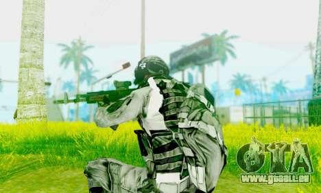 AK-12 de champ de bataille 4 pour GTA San Andreas deuxième écran