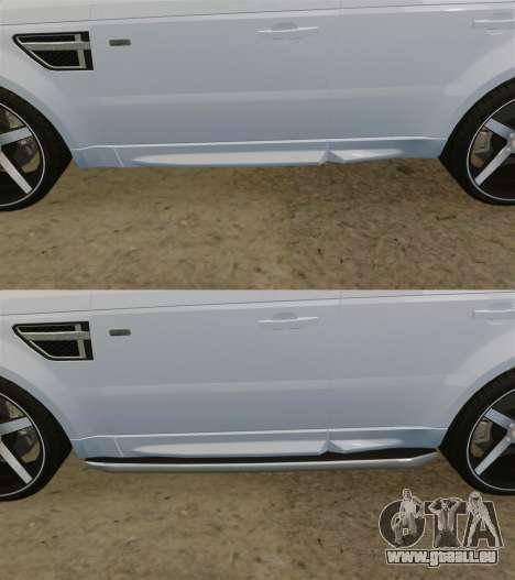 Range Rover Sport Autobiography 2013 Vossen pour GTA 4 est une vue de dessous
