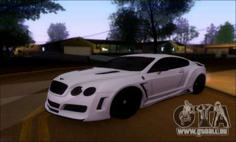 Bentley Continental GT pour GTA San Andreas