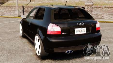 Audi S3 2001 für GTA 4 hinten links Ansicht