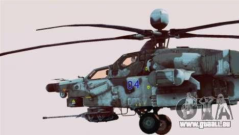 Mi-28N Havoc für GTA San Andreas linke Ansicht