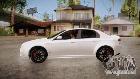 Alfa Romeo 159 pour GTA San Andreas laissé vue