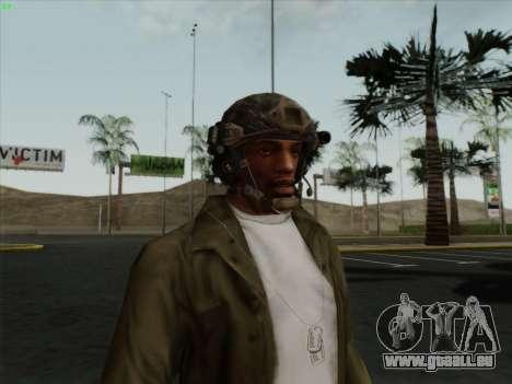 Helm von Call of Duty MW3 für GTA San Andreas zweiten Screenshot