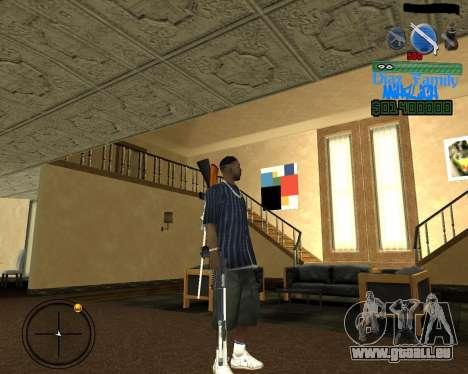 C-Hud for SA:MP pour GTA San Andreas deuxième écran