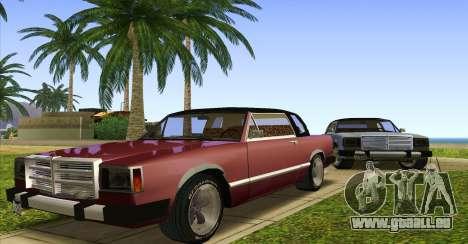 Feltzer C107 coupe pour GTA San Andreas