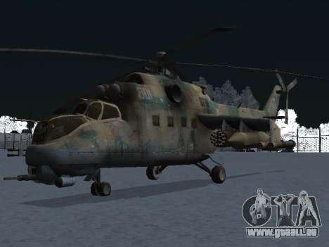 Der MIL MI-24-p für GTA San Andreas