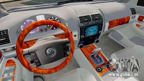 Volkswagen Touareg 2002 für GTA 4 Innenansicht