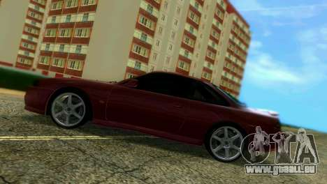 Nissan Silvia S14 Light Tuning für GTA Vice City Innenansicht
