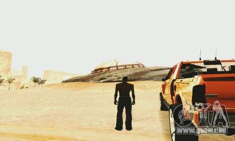 UFO Crash Site für GTA San Andreas