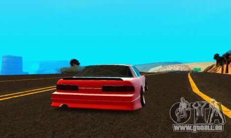 Nissan Silvia S13 HellaDrift für GTA San Andreas rechten Ansicht