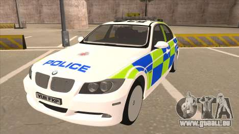 European Emergency BMW 330 pour GTA San Andreas