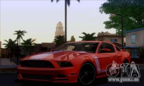 FF TG ICY ENB V1.0 pour GTA San Andreas quatrième écran