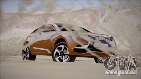 Lada X-Ray pour GTA San Andreas vue de droite