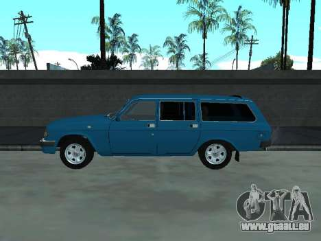 310221 GAZ pour GTA San Andreas sur la vue arrière gauche