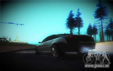 Audi A8L D3 pour GTA San Andreas vue de dessous
