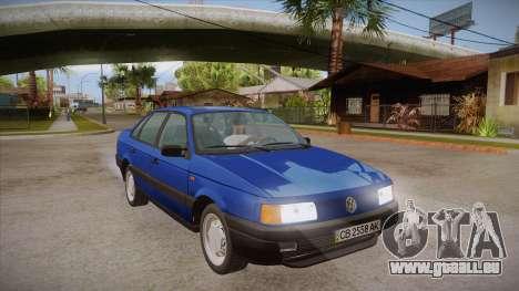 Volkswagen Passat B3 IVLM für GTA San Andreas Rückansicht