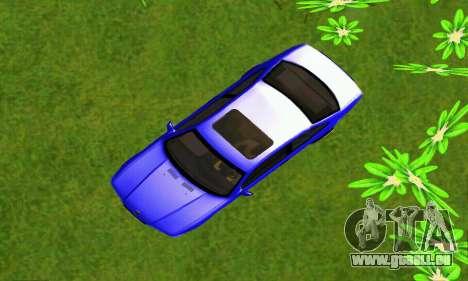 BMW E36 Low and Slow pour GTA San Andreas vue arrière