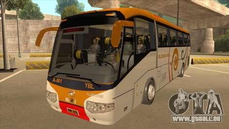 Higer KLQ6129QE - Yellow Bus Line A-001 für GTA San Andreas