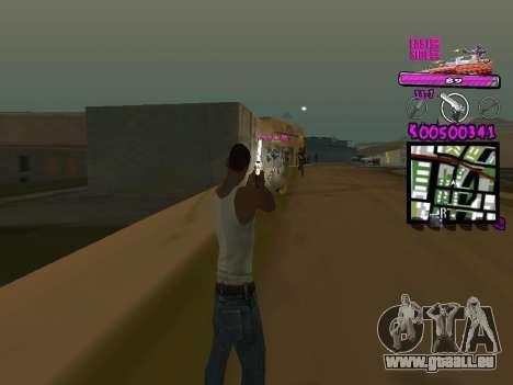 C-HUD by Kerro Diaz [ Ballas ] pour GTA San Andreas