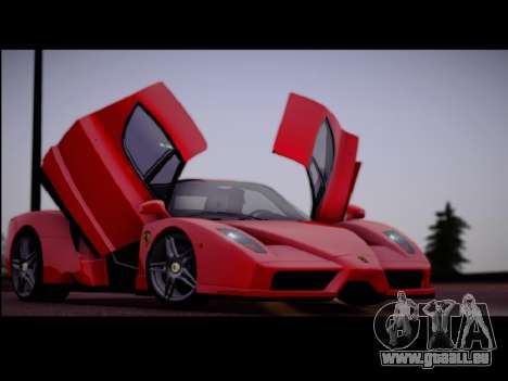 Ferrari Enzo pour GTA San Andreas laissé vue