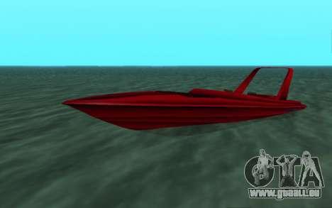 Vice City Squallo II pour GTA San Andreas laissé vue