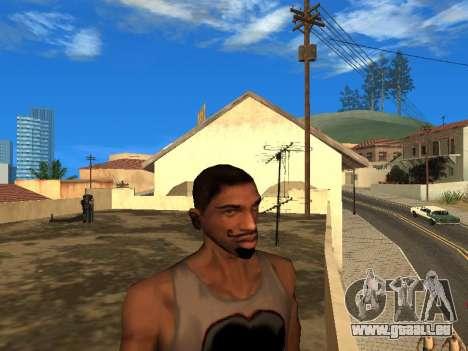 Le nouveau visage de CJ pour GTA San Andreas deuxième écran