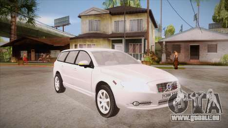Volvo V70 Unmarked Police pour GTA San Andreas vue arrière