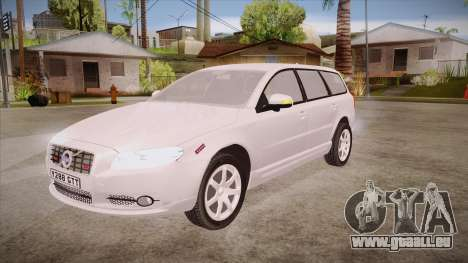 Volvo V70 Unmarked Police pour GTA San Andreas