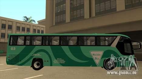 Holiday Bus 03 pour GTA San Andreas sur la vue arrière gauche