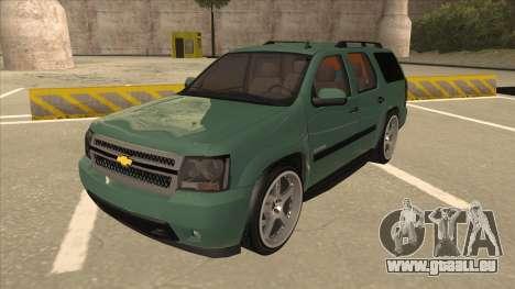 Chevrolet Tahoe Sound Car The Adiccion für GTA San Andreas
