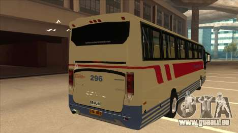 Davao Metro Shuttle 296 für GTA San Andreas rechten Ansicht