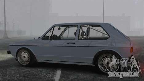 Volkswagen Golf MK1 GTI Update v1 pour GTA 4 est une gauche