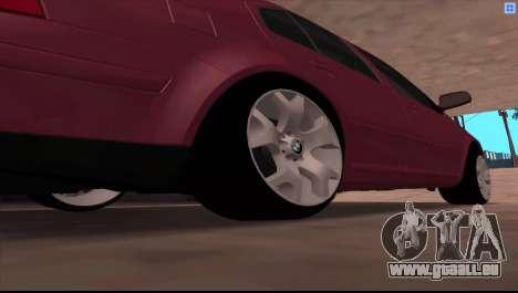 Volkswagen Bora V6 Stance pour GTA San Andreas vue de droite