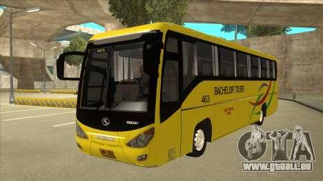 Kinglong XMQ6126Y - Bachelor Tours 463 pour GTA San Andreas