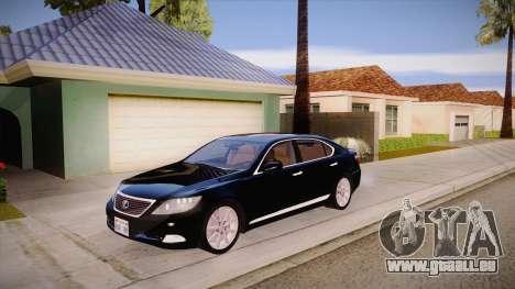 Lexus LS 600h L pour GTA San Andreas