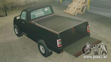 UAZ Patriot-pickup für GTA 4 Seitenansicht