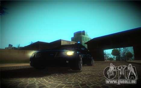 Audi A8L D3 pour GTA San Andreas vue de côté