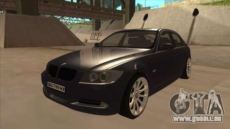 BMW 330 e90 pour GTA San Andreas