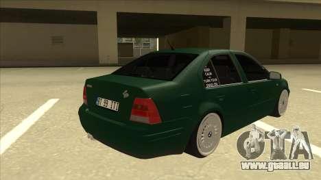 VW Bora für GTA San Andreas rechten Ansicht