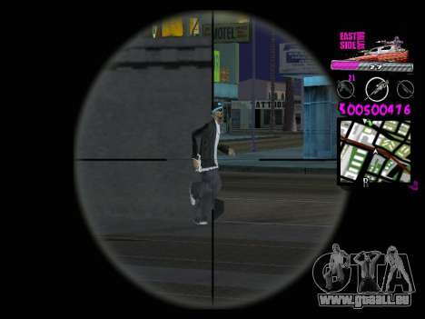 C-HUD by Kerro Diaz [ Ballas ] für GTA San Andreas her Screenshot
