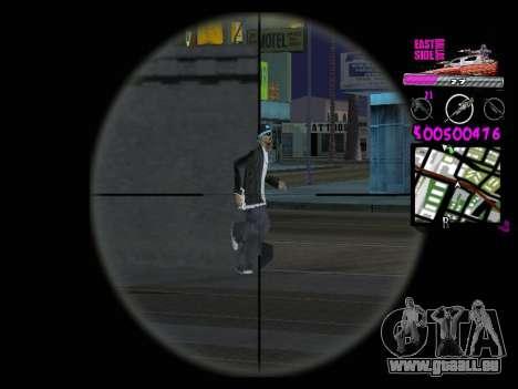 C-HUD by Kerro Diaz [ Ballas ] pour GTA San Andreas quatrième écran