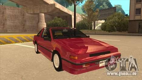 Nissan EXA L.A. Version für GTA San Andreas linke Ansicht