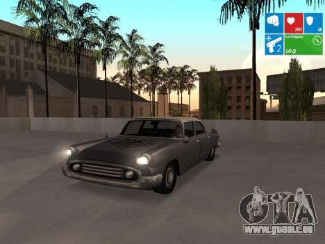 Graffity Glendale für GTA San Andreas linke Ansicht